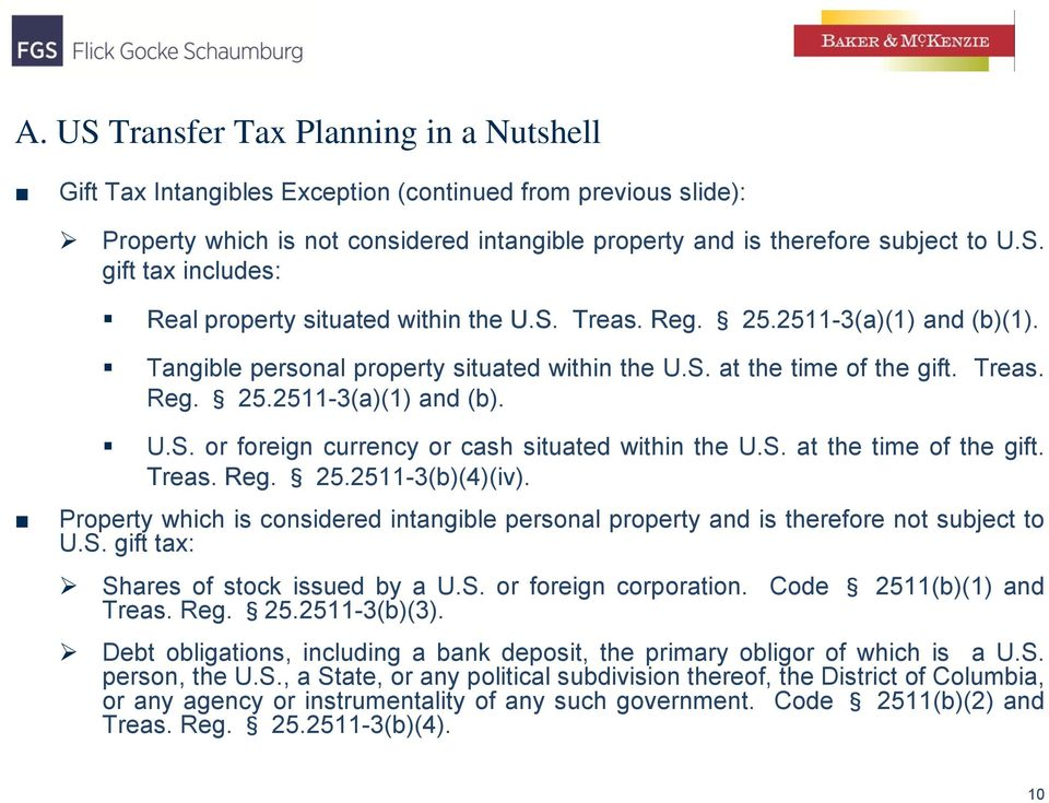 Tranfer Of Intangible Property By U S Person To Foreign Corporation