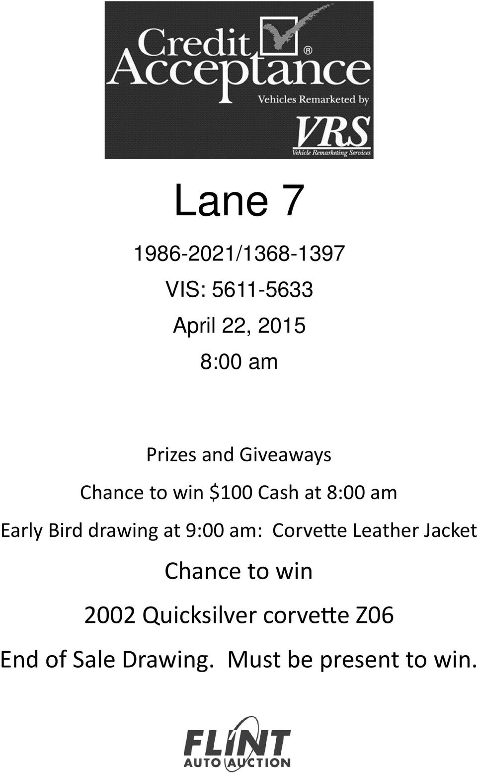 Bird drawing at 9:00 am: Corve e Leather Jacket Chance to win