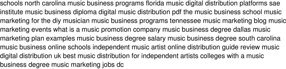 business degree dallas music marketing plan examples music business degree salary music business degree south carolina music business online schools independent music