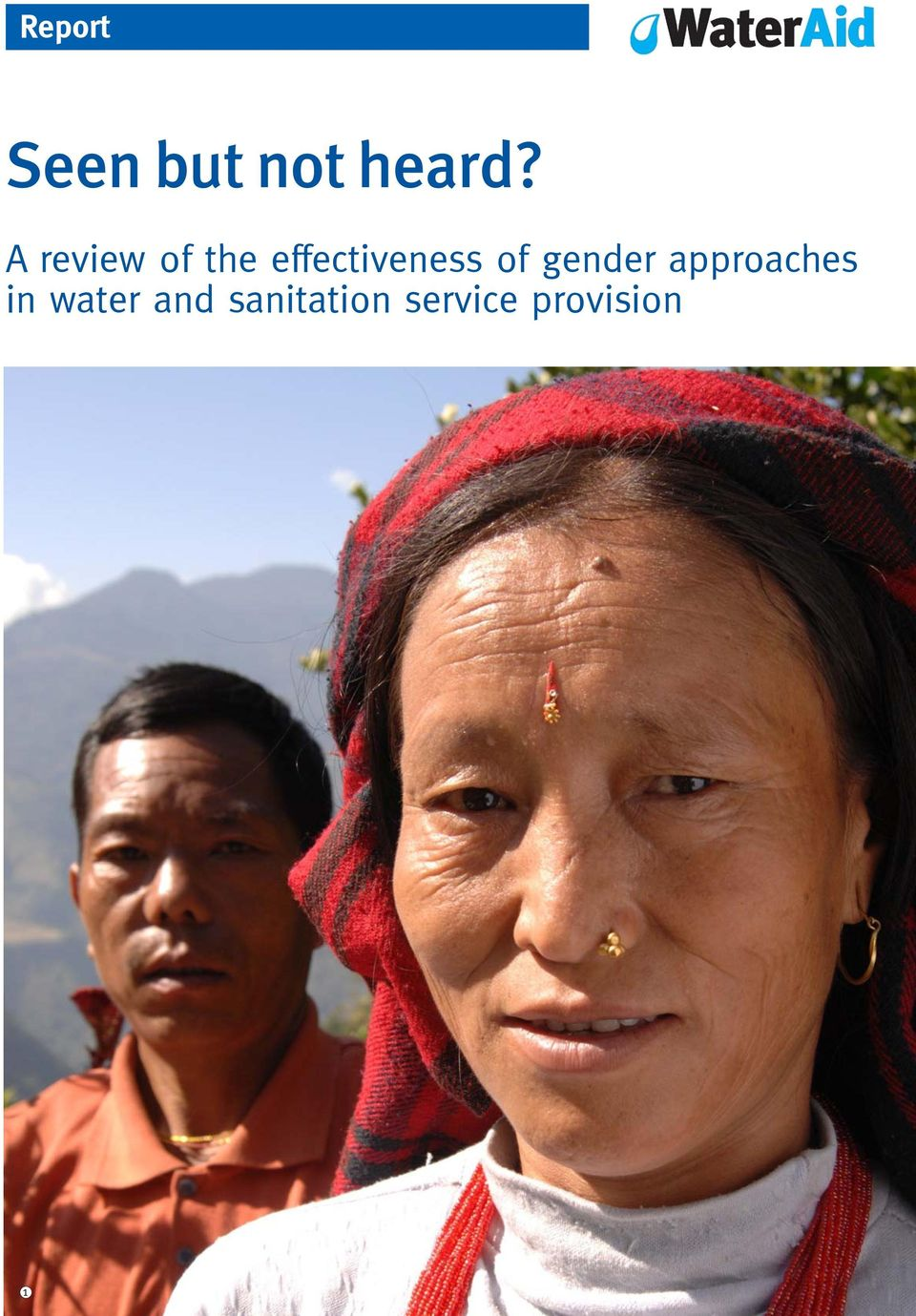 of gender approaches in water