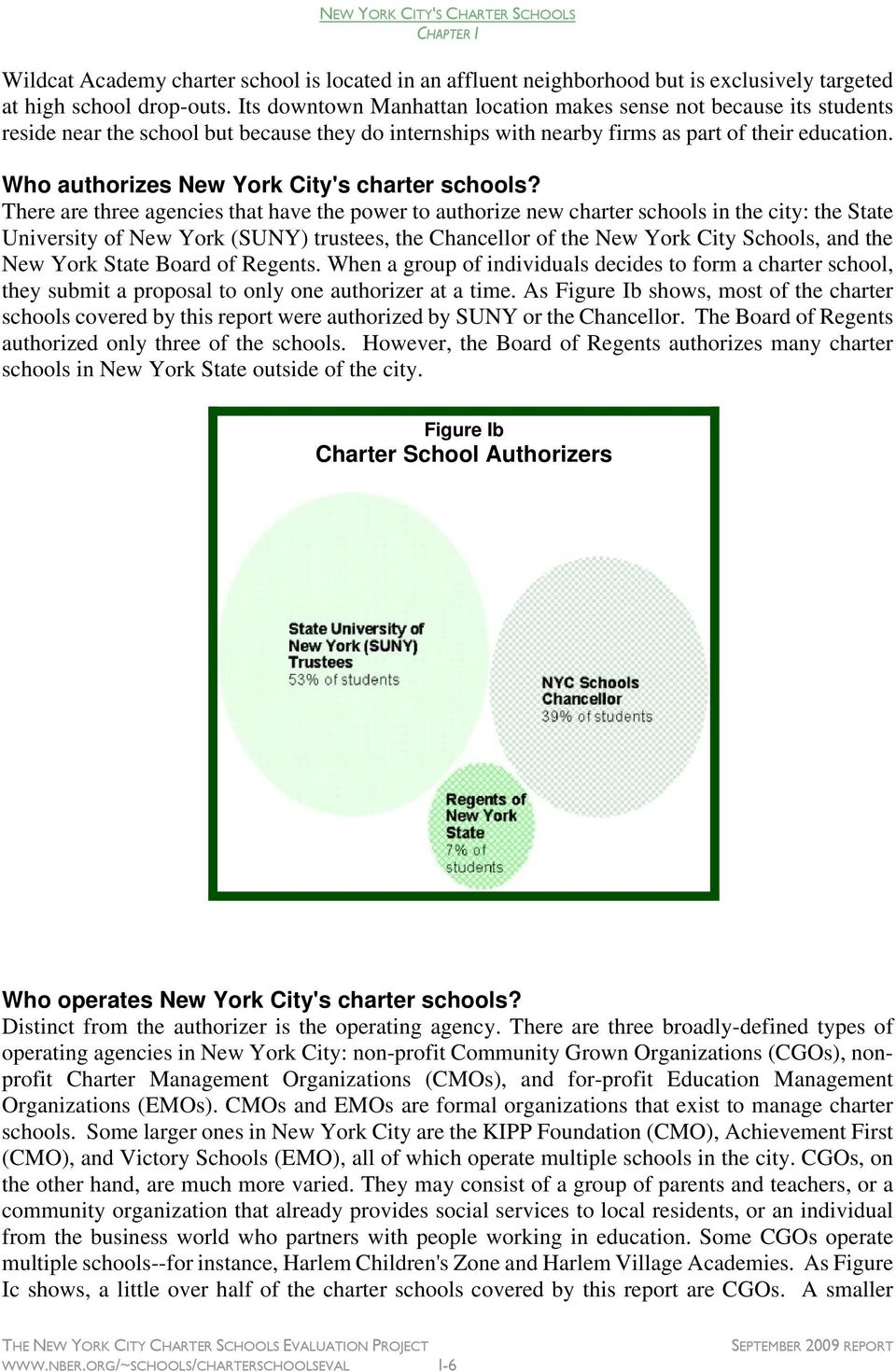 Who authorizes New York City's charter schools?