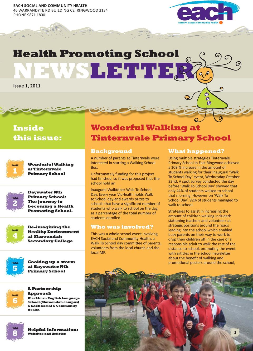 School: The journey to becoming a Health Promoting School.
