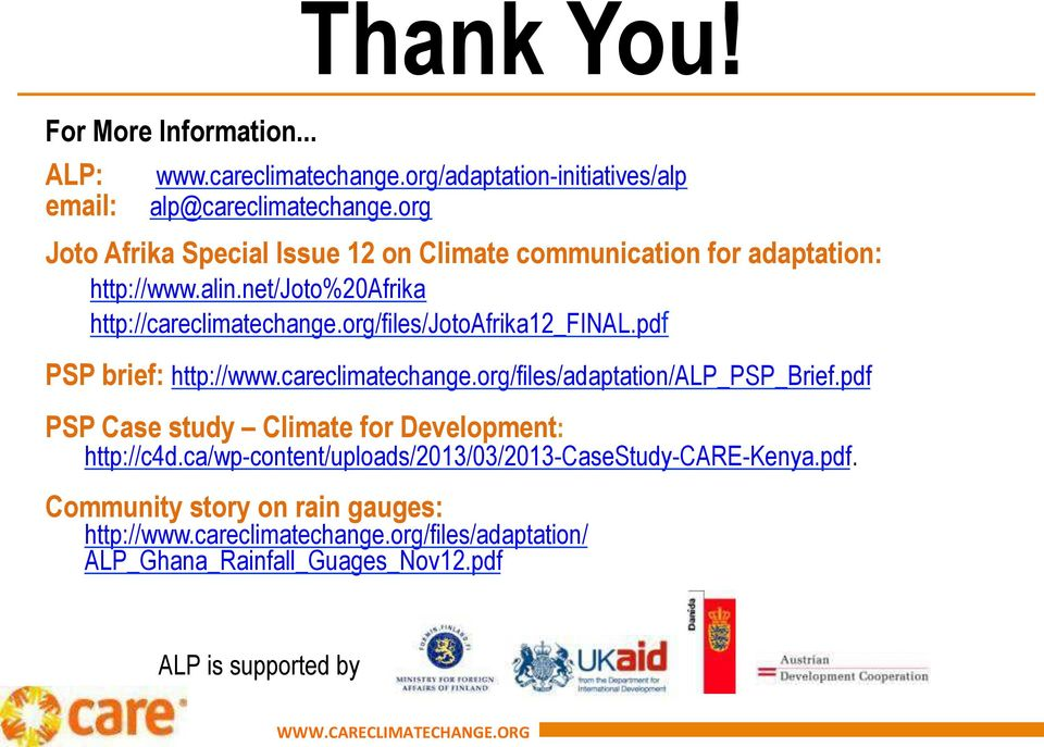org/files/jotoafrika12_final.pdf PSP brief: http://www.careclimatechange.org/files/adaptation/alp_psp_brief.