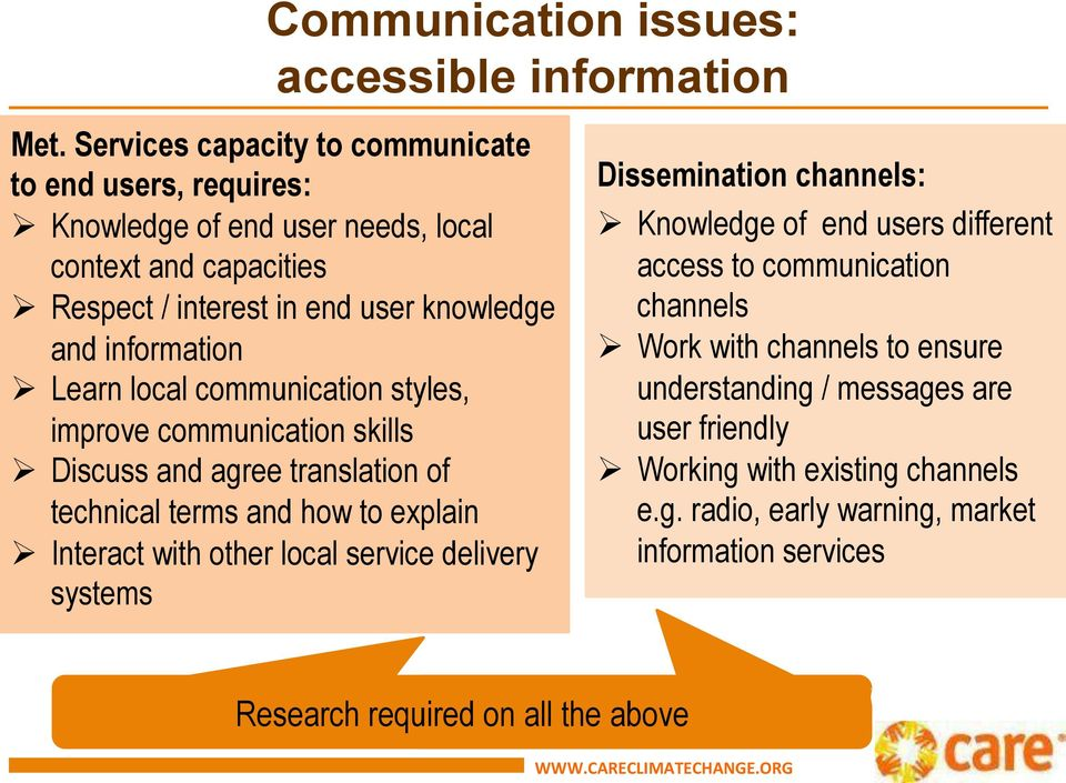 Ø Learn local communication styles, improve communication skills Ø Discuss and agree translation of technical terms and how to explain Ø Interact with other local service