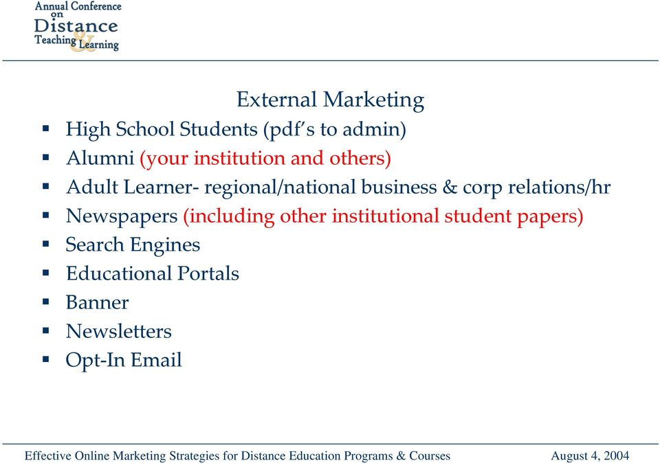 corp relations/hr Newspapers (including other institutional student