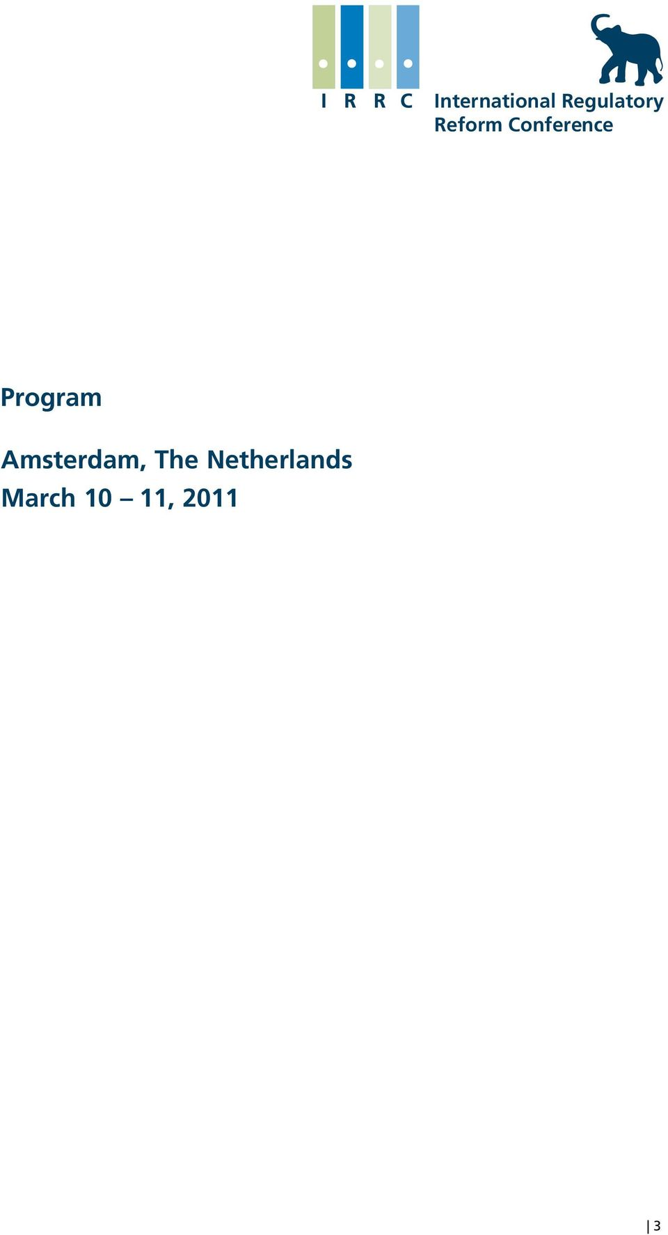 Program Amsterdam, The