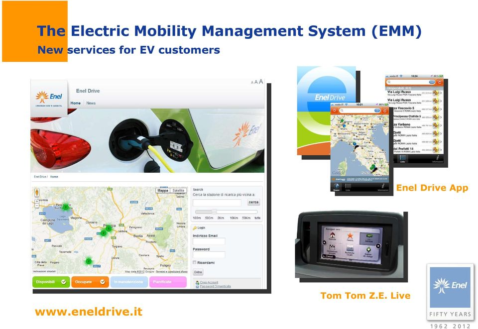services for EV customers Enel