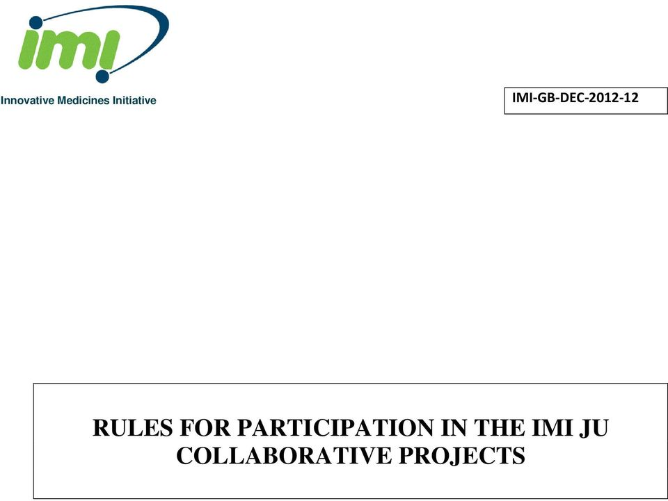 IMI-GB-DEC-2012-12 RULES