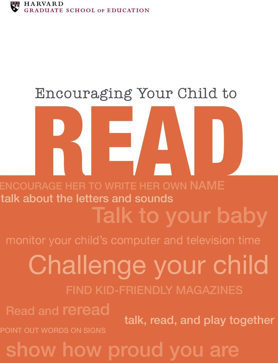 television time Challenge your child find kid-friendly magazines Read and