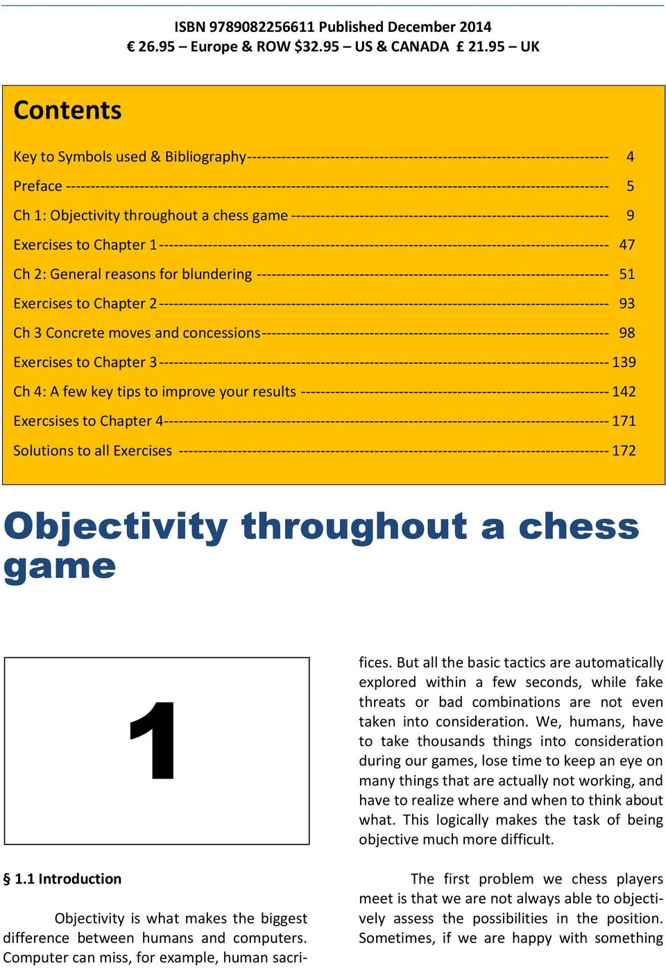 --------------------------------------------------------------------------------------------------------------- 5 Ch 1: Objectivity throughout a chess game
