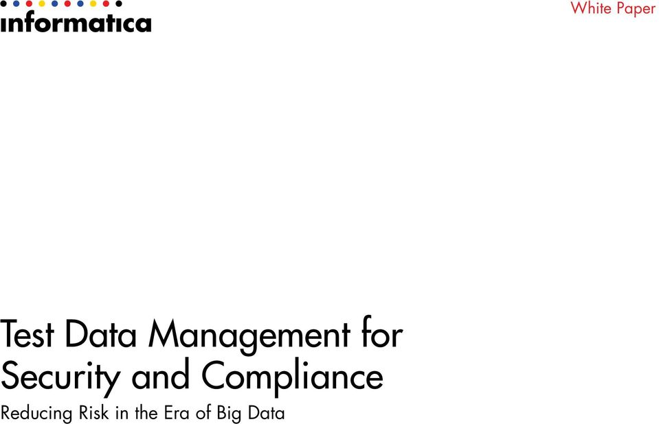 Compliance Reducing Risk in