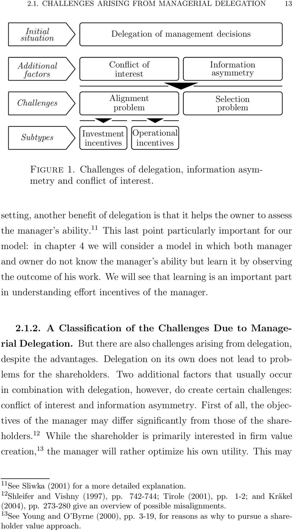 setting, another benefit of delegation is that it helps the owner to assess the manager s ability.