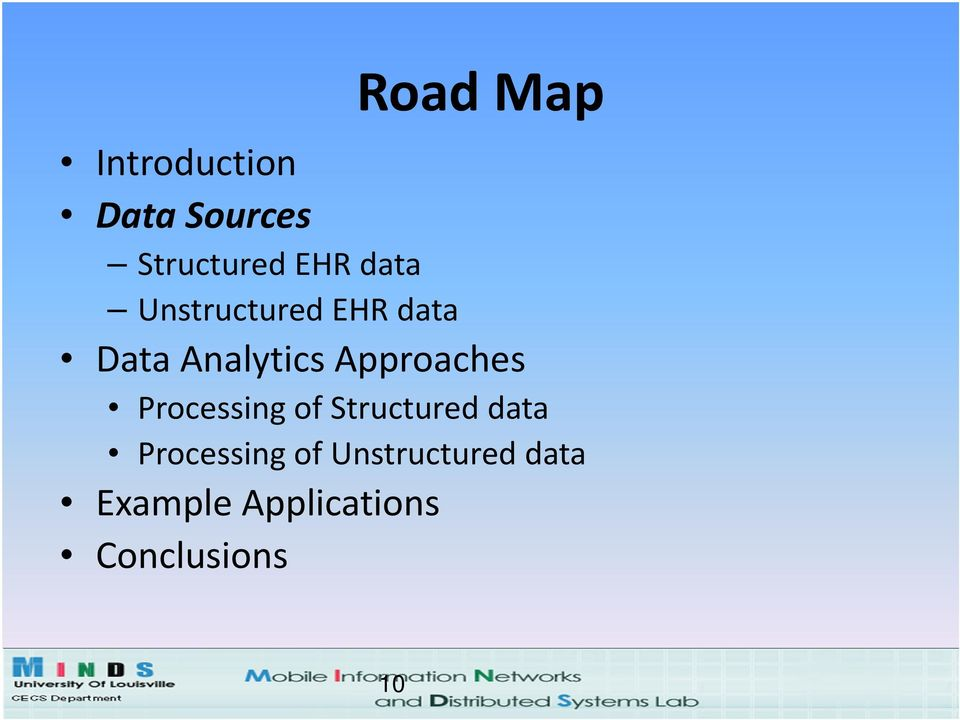 Approaches Processing of Structured data