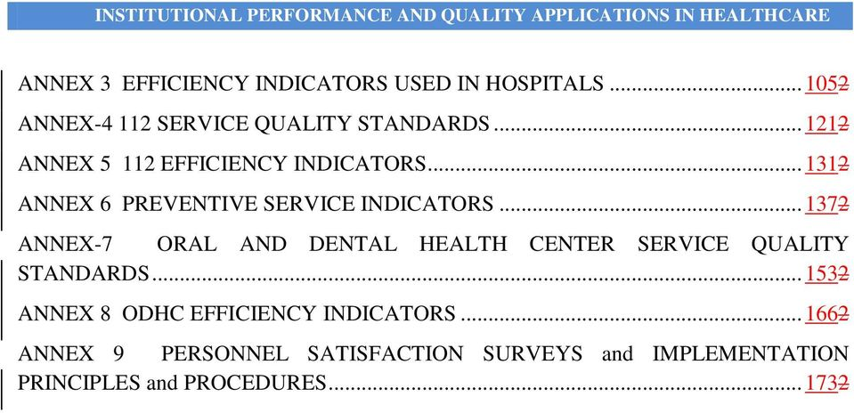 .. 1372 ANNEX-7 ORAL AND DENTAL HEALTH CENTER SERVICE QUALITY STANDARDS.