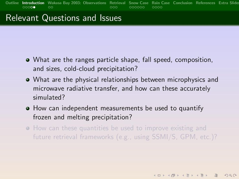 What are the physical relationships between microphysics and microwave radiative transfer, and how can these