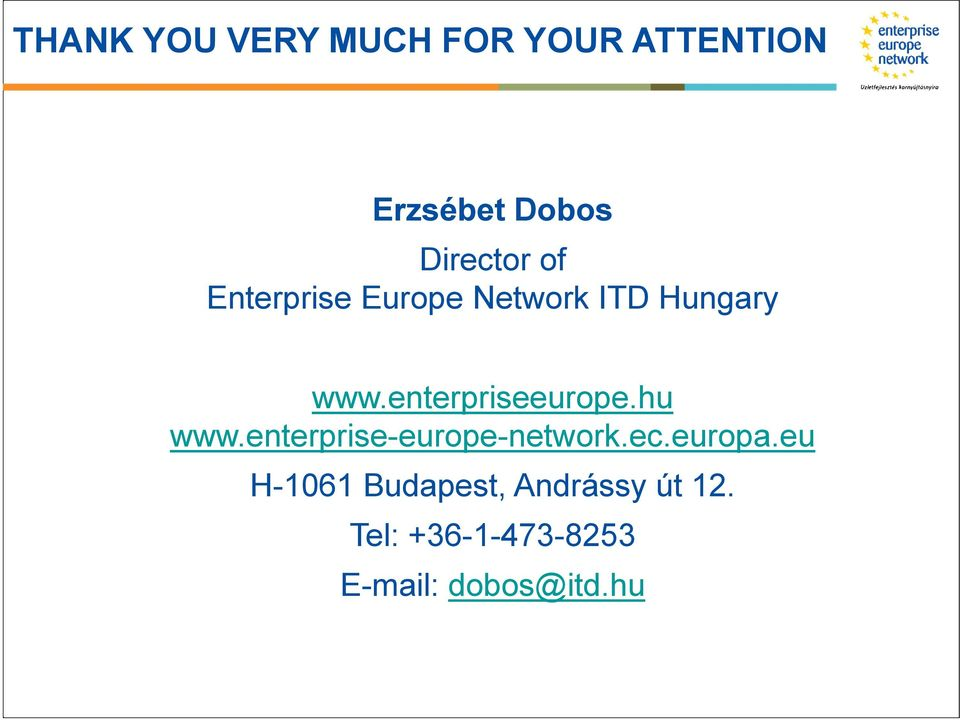 enterpriseeurope.hu www.enterprise-europe-network.ec.europa.