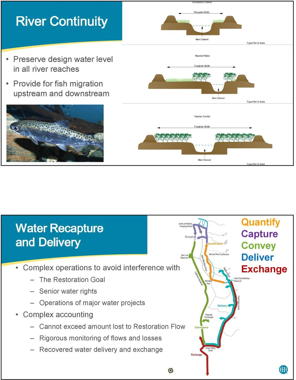 major water projects Complex accounting Cannot exceed amount lost to Restoration Flow Rigorous