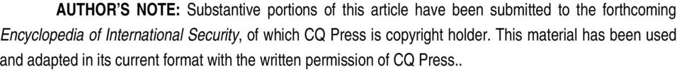 of which CQ Press is copyright holder.
