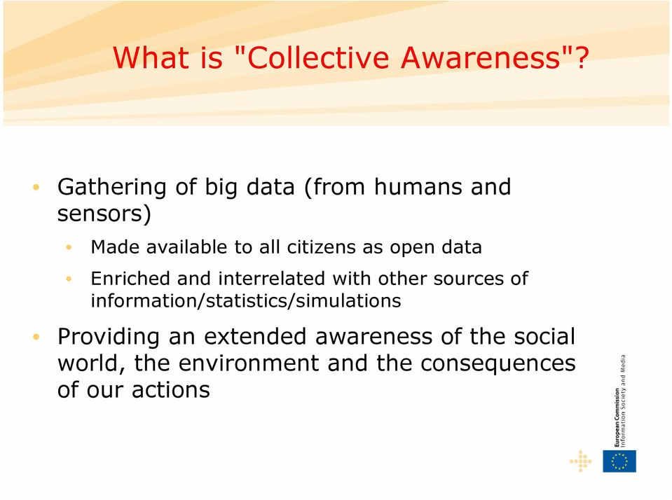 citizens as open data Enriched and interrelated with other sources of