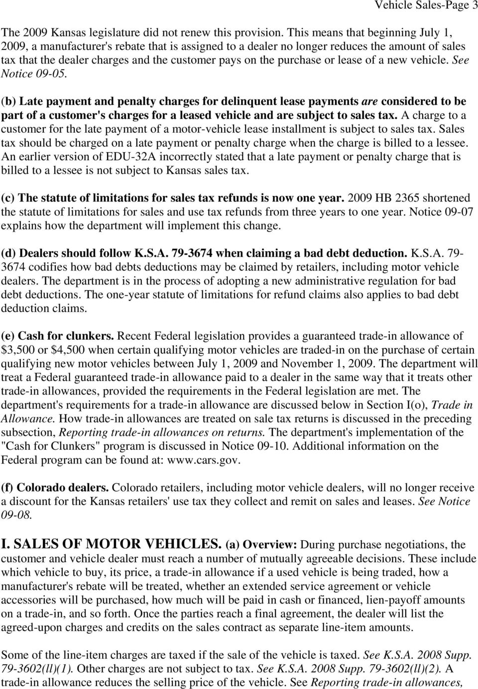 lease of a new vehicle. See Notice 09-05.