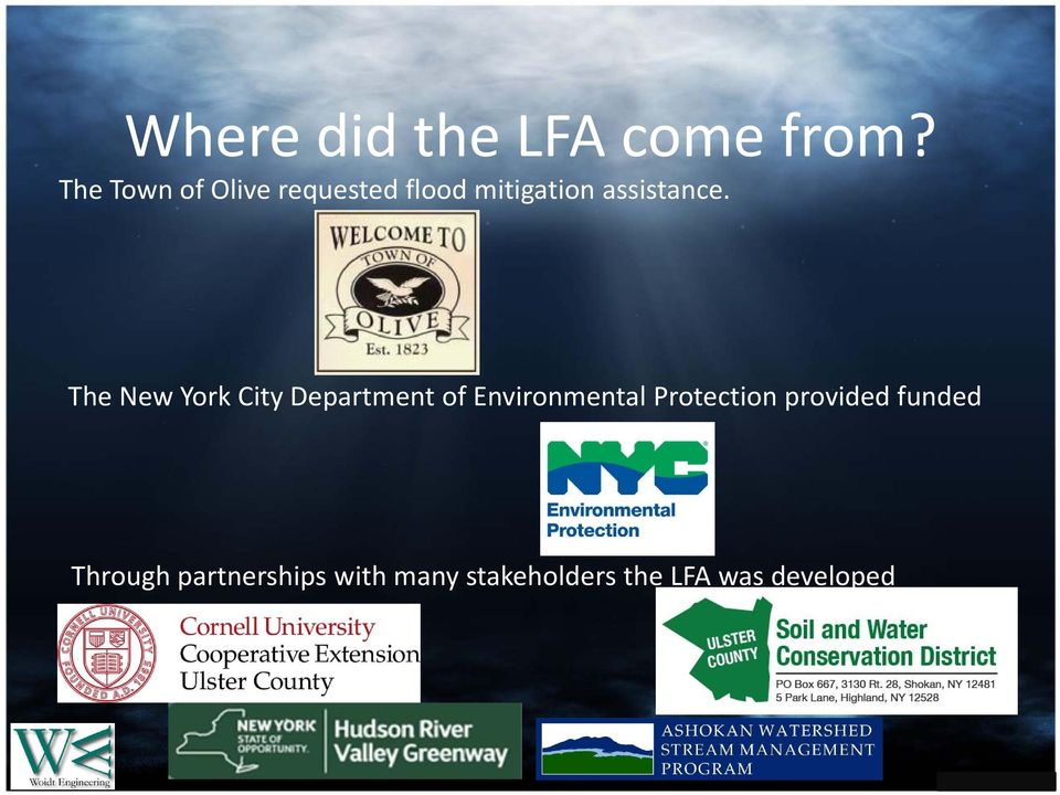 The New York City Department of Environmental