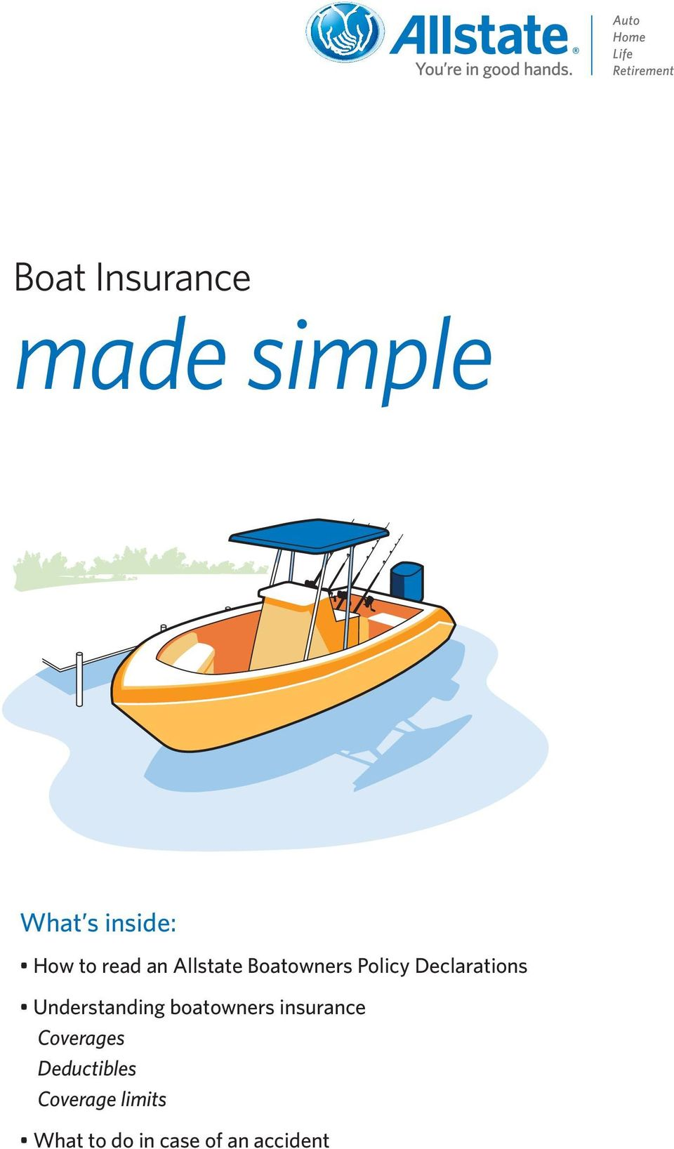 Understanding boatowners insurance Coverages