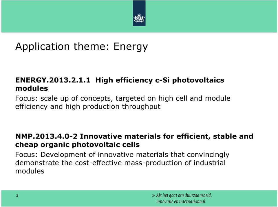 module efficiency and high production throughput NMP.2013.4.