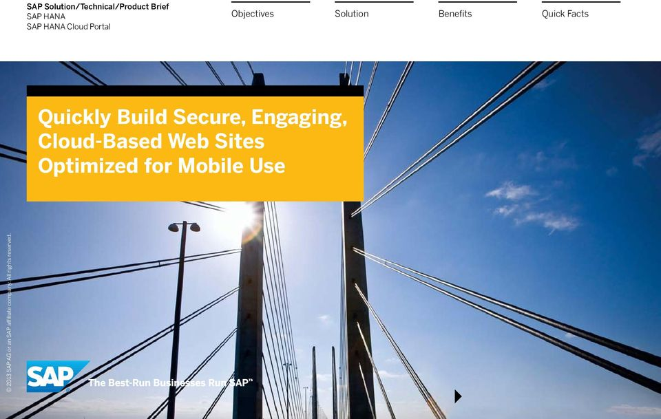 Quickly Build Secure, Engaging,