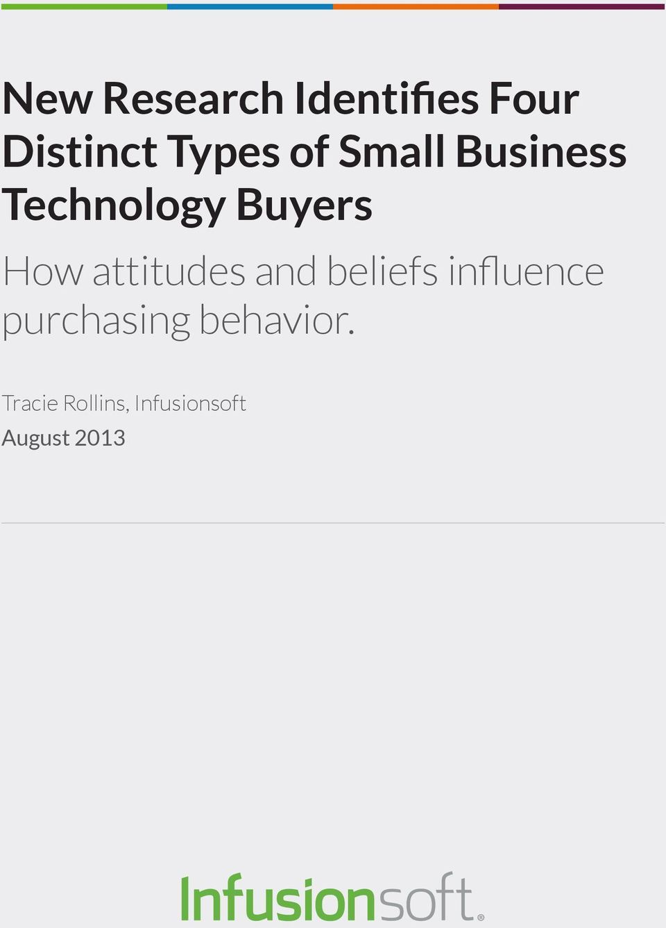 attitudes and beliefs influence purchasing