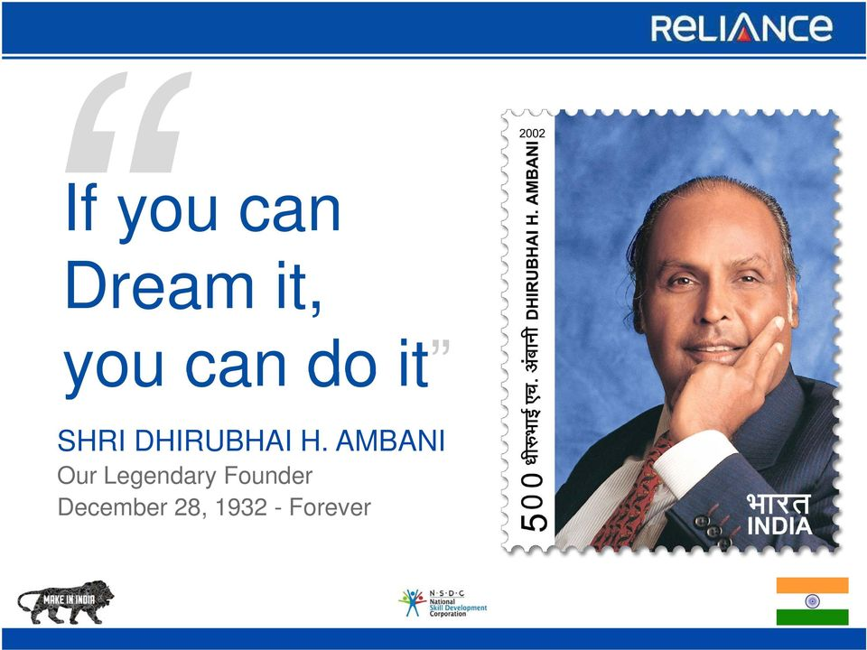AMBANI Our Legendary
