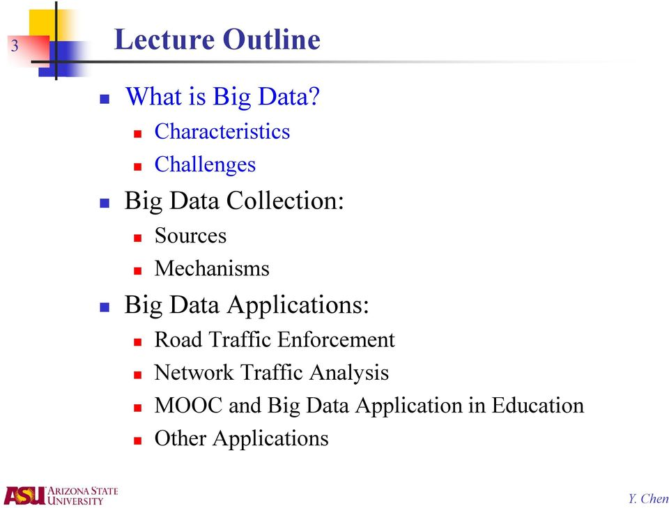 Mechanisms Big Data Applications: Road Traffic Enforcement
