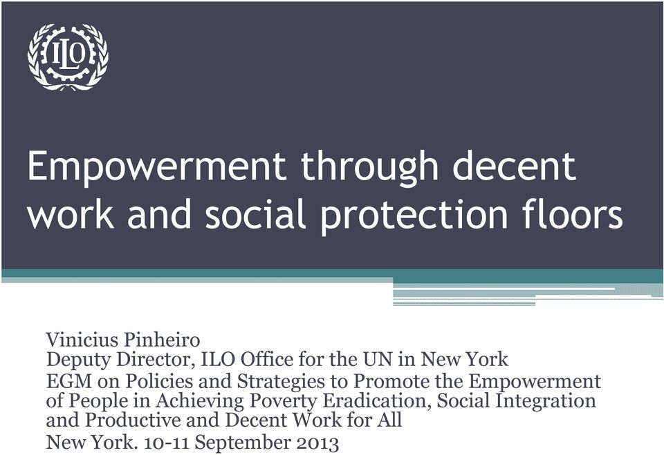 Strategies to Promote the Empowerment of People in Achieving Poverty