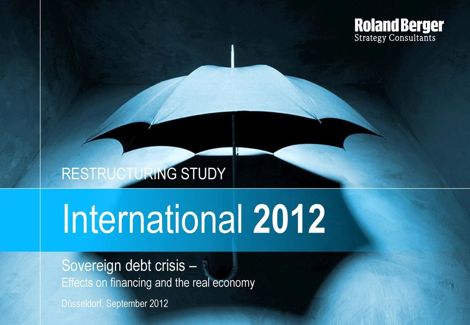 debt crisis Effects on financing