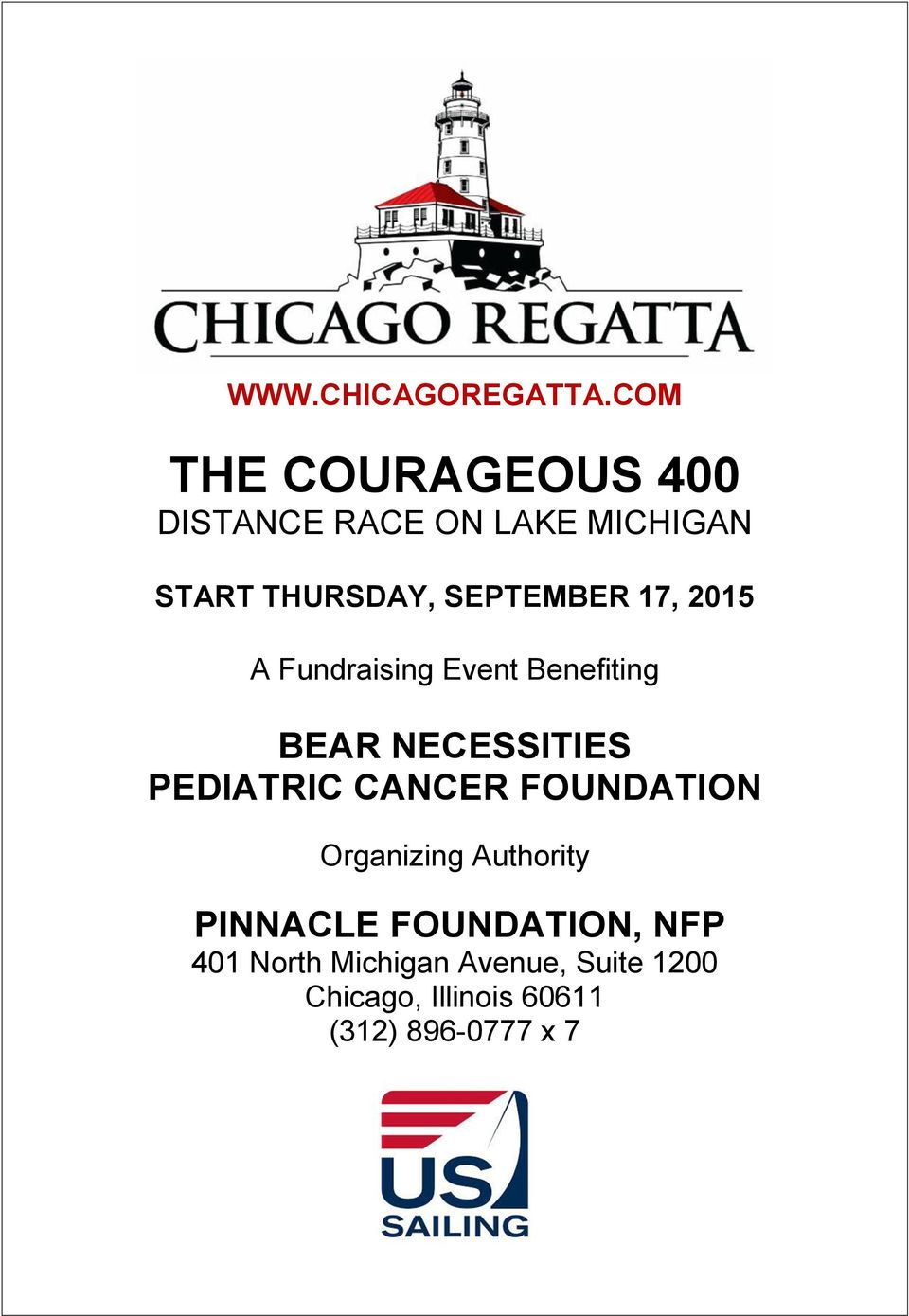 SEPTEMBER 17, 2015 A Fundraising Event Benefiting BEAR NECESSITIES PEDIATRIC