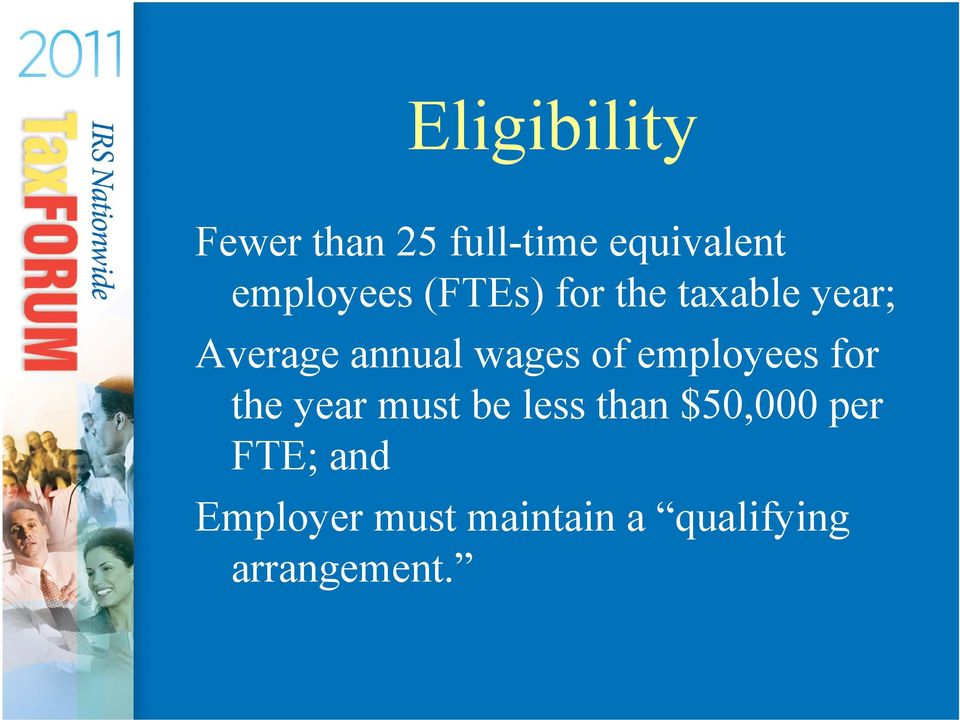 wages of employees for the year must be less than