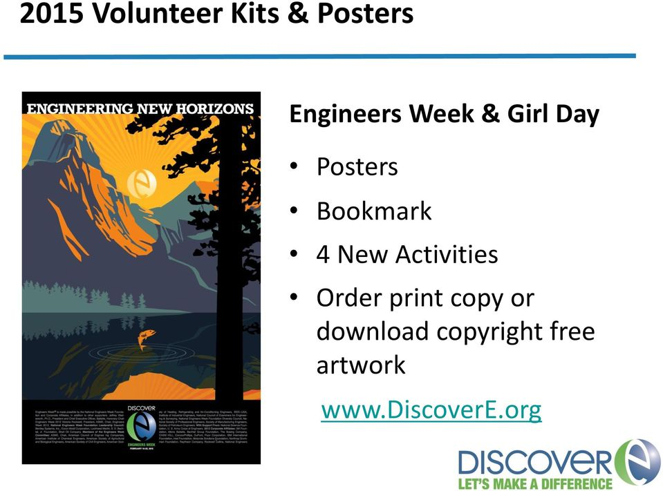 Activities Order print copy or download