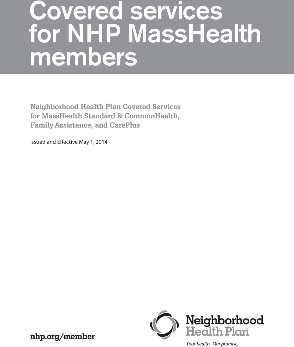 MassHealth Standard & CommonHealth, Family