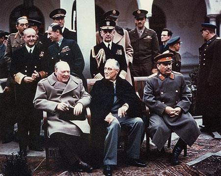 The Yalta Conference The Soviets were given control of Eastern Europe This