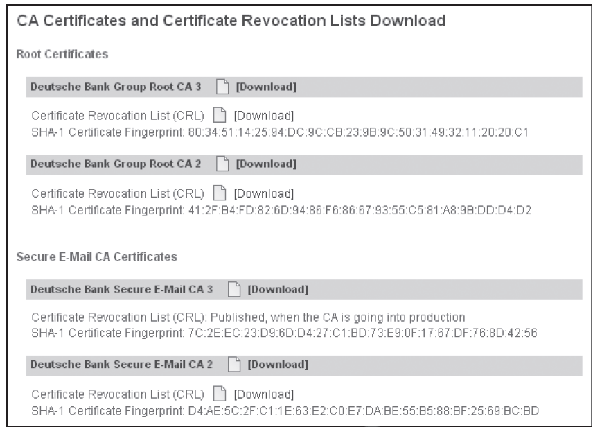 Figure 12-2 Certificate Revocation List (CRL) Cengage Learning 2012