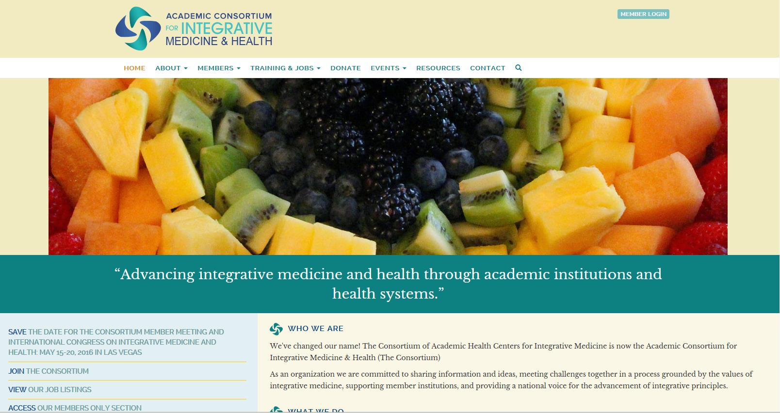 The UCSD Center for Integrative Medicine: Vision