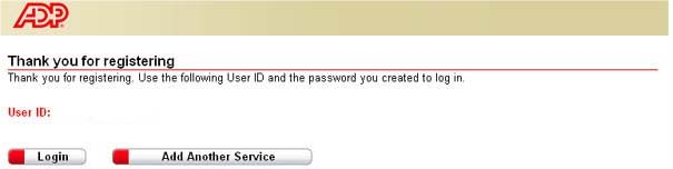 step 7 view your user id and create a password enter your security information as