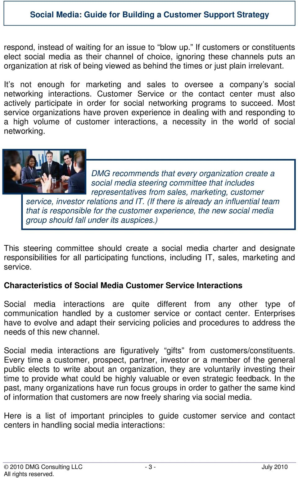 It s not enough for marketing and sales to oversee a company s social networking interactions.