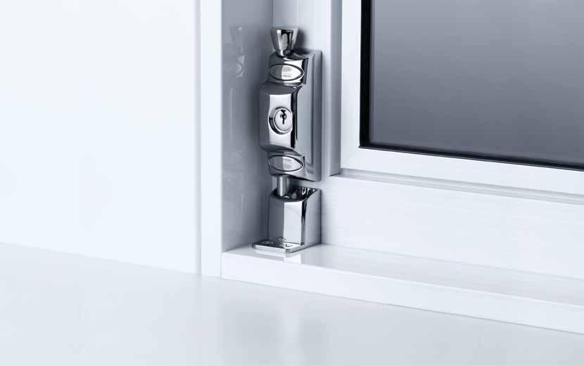680 Patio Bolt The Lockwood 680 Lockable Patio Bolt is a strong, heavy duty, surface mounted product designed to improve security in a range of residential sliding and hinge door applications.