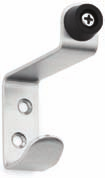 Coat / Robe Hooks Model No: RH-01 145003-24801-630 RH-01 Lockwood Tubular Double Robe Hook SSS Model No: RH-02 145003-24802-630 RH-02 Lockwood Radius Double Robe Hook SSS Model No: RH-03