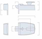 NIGHTLATCHES COMMON FEATURES OF THE RANGE All Legge nightlatches incorporate the following features: Brass Latch Bolt Supplied with 5 pin rim cylinder 785 & 789 NIGHTLATCHES Suitable for masterkeying