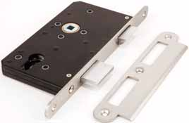 BRITON 5560 ESCAPE SASHLOCK Deadbolt can be thrown and withdrawn from one or both sides depending on cylinder selected The cylinder to latch function enables the cylinder to withdraw the deadbolt on