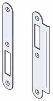 BRITON 5440 LATCH Suitable for use on internal doors with lever furniture to withdraw the latchbolt where no locking function is required 93 20 25 16.5 3 11 12 45 32 21.