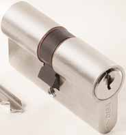 CISA ASTRAL CYLINDERS Ideal for use on commercial buildings requiring a convenient masterkey system.