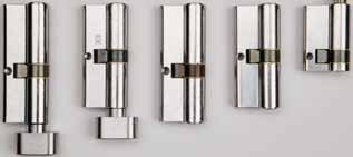CISA C2000 CYLINDERS Providing a medium level of physical security these cylinders are an economical option for either singles or master keyed systems.