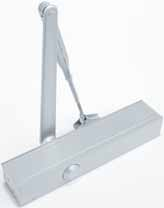 BRITON 1130B Wind through adjustable for power sizes 2-6 making it suitable for most door applications including doors up to 1400mm wide and 120kg in weight Adjustable strength backcheck helps to